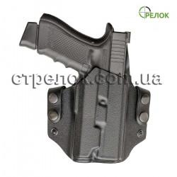 Кобура A-line ПК54 для Глок + подствольный фонарь, пластиковая быстросъемная
