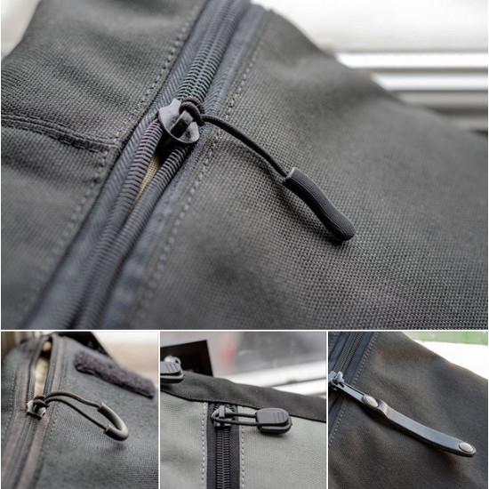 Сумка синтетическая плечевая с кобурой A-line А39, черная
