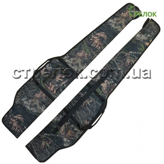 Чехол для винтовки с оптикой 125 см, лесной камуфляж