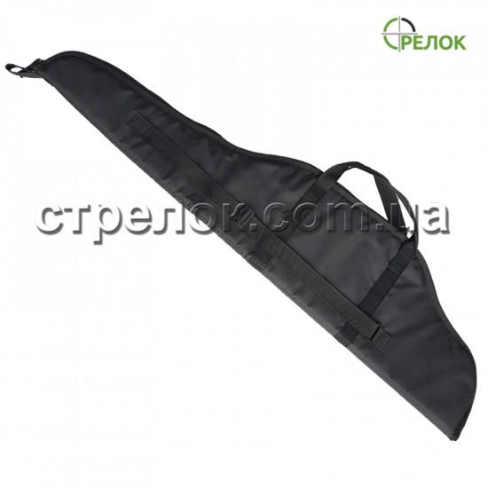 Чехол синтетический для винтовки с оптикой Стрелок (130 см, черный)
