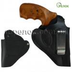 Кобура Феникс поясная для револьвера со скобой, черная