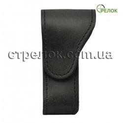 Кожаный чехол Медан 2417 для складного ножа, черный