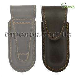 Кожаный чехол Медан 2418 для складного ножа, коричневый