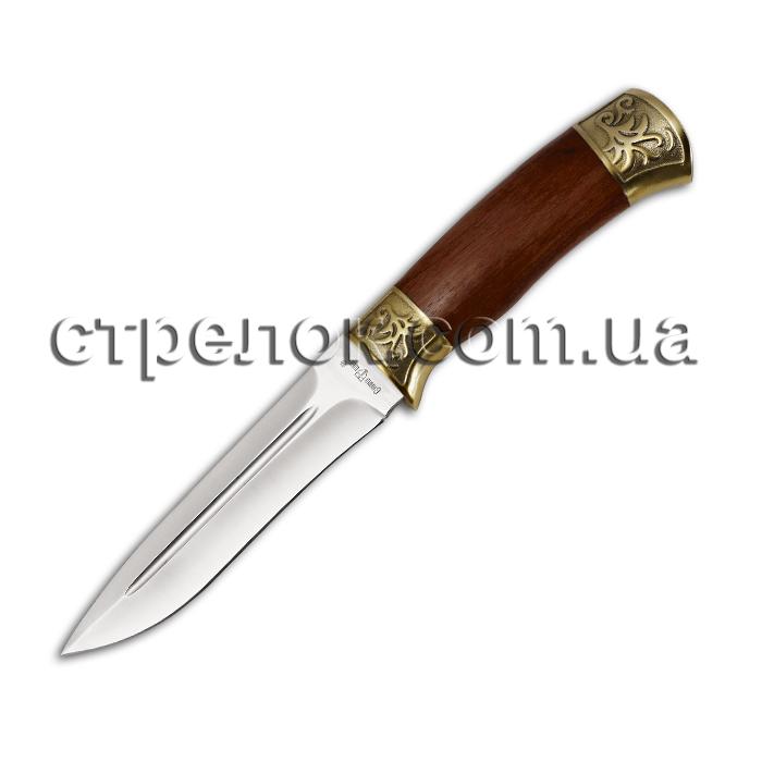 Нож охотничий GW 2229 (рукоять - красное дерево, латунь)