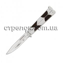 Нож балисонг GW 1863 (рукоять - дерево, металл)