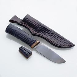 Нож ручной работы Дикарь (сталь N690)