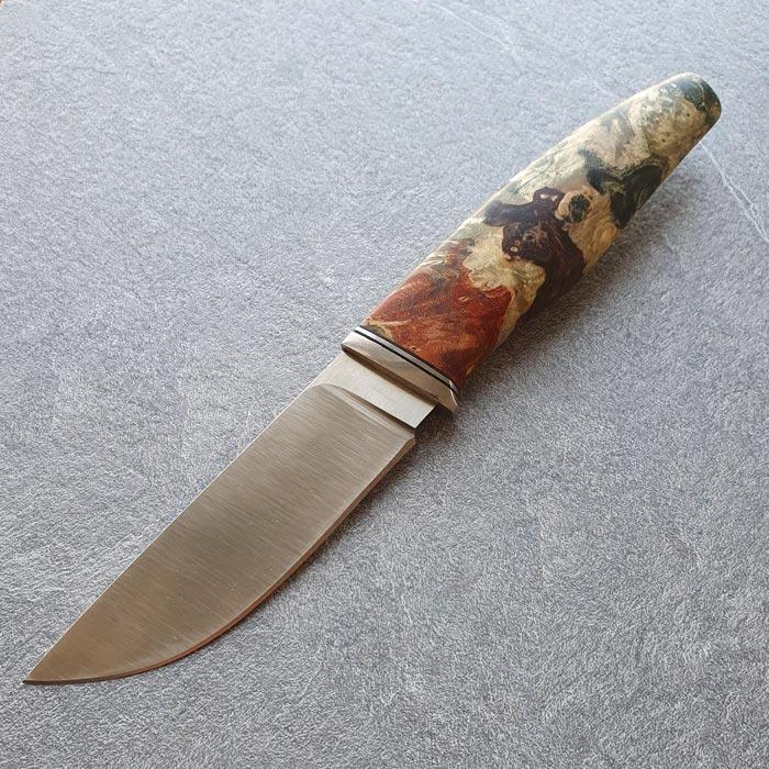 Нож ручной работы Весенний