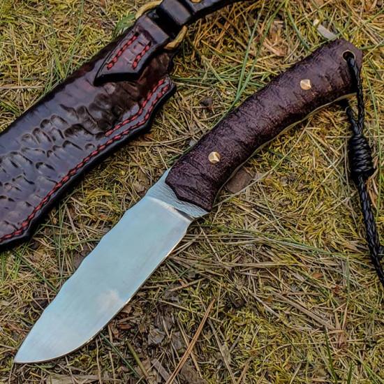 Нож ручной работы Red Fox (сталь N690)