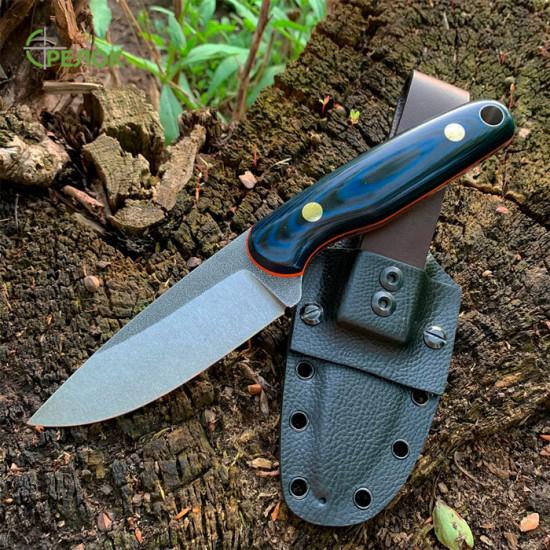 Нож ручной работы Sharky (сталь N690)