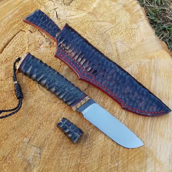 Нож ручной работы The Dark Knight (сталь N690)