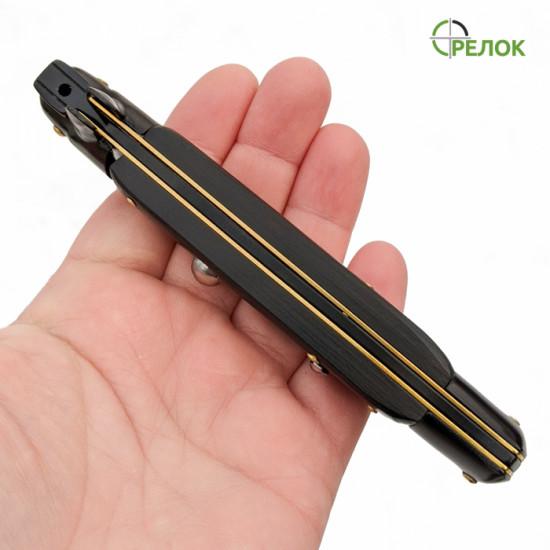 Нож выкидной СТИЛЕТ-5 BLACK EDITION