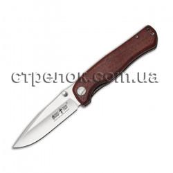 Нож складной E-101 (рукоять - красное дерево)