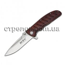 Нож складной E-111 (рукоять - красное дерево)