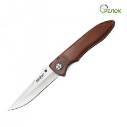 Нож складной 6232 PK (рукоять - дерево)
