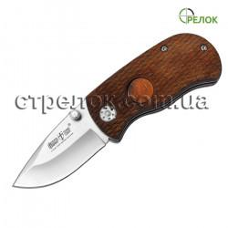Нож складной GW 00574 (рукоять - дерево)