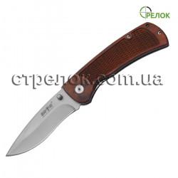 Нож складной GW 00616 (рукоять - дерево)