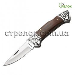 Нож складной GW 0065 (рукоять - дерево, металл)