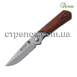 Нож складной GW 00847 (рукоять - дерево)