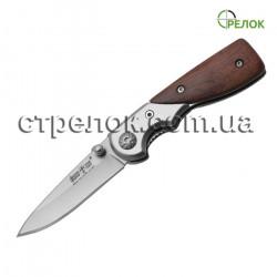 Нож складной GW 01600 (рукоять- металл, дерево)