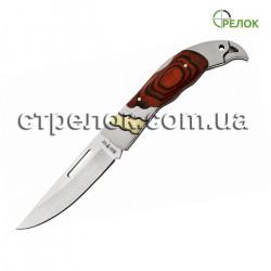 Нож складной GW 5326 K (рукоять - дерево, металл)
