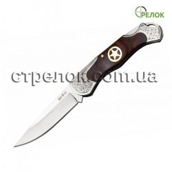 Нож складной GW 5328 K (рукоять - дерево, металл)