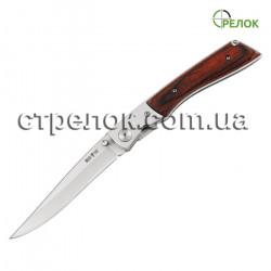 Нож складной GW 7071 (рукоять - дерево, металл)