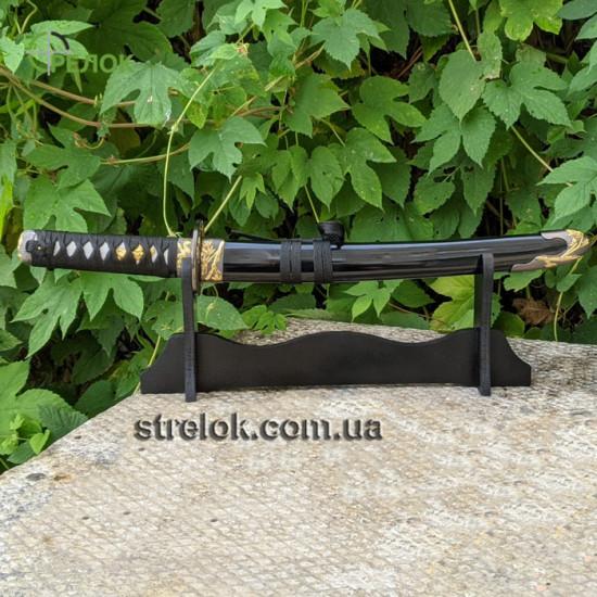 Короткий меч Танто №1 на подставке