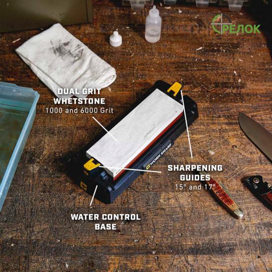 Точилка Work Sharp Benchtop Whetstone Sharpener WSBCHWHT-I