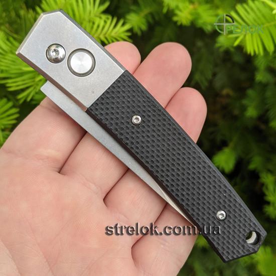 Нож выкидной Ganzo G7362-BK