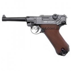 Пистолет пневматический Gletcher Parabellum P-08