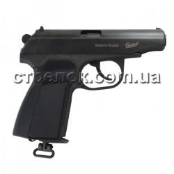 Пистолет пневматический MP-654K, черная рукоять