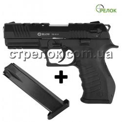 Пистолет стартовый Blow TR 92D с дополнительным магазином