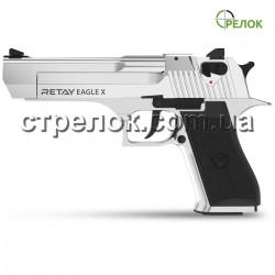 Пистолет стартовый Retay Eagle X Nickel