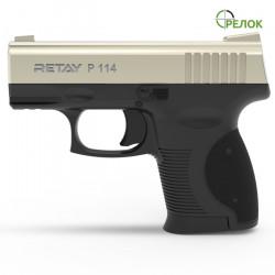 Пистолет стартовый Retay P114 Satin