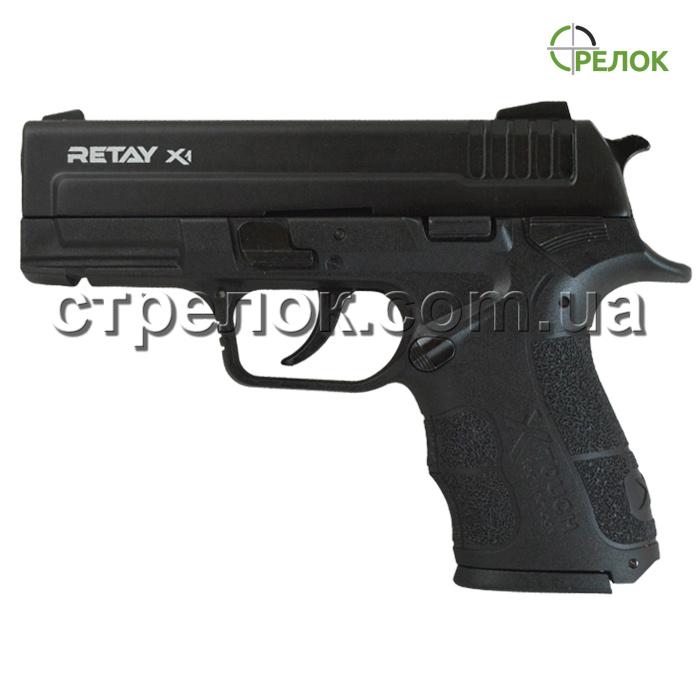 Пистолет стартовый Retay X1 Black