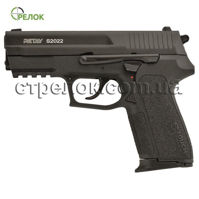 Пистолет стартовый Retay 2022 Black