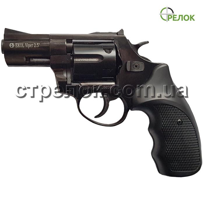 """Револьвер шумовой Ekol Viper 2.5"""" 9 mm черный"""