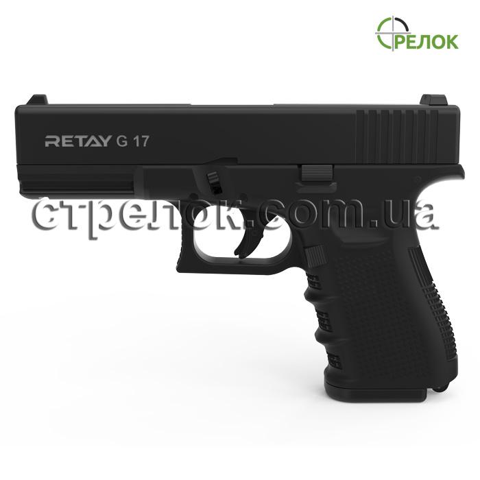 Пистолет стартовый Retay G17 Black