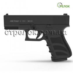 Пистолет стартовый Retay G19 C Black