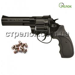 "Револьвер под патрон Флобера Stalker S 4.5"" black черная рукоять"