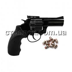 Револьвер под патрон Флобера Ekol Python 3 Special black пластик