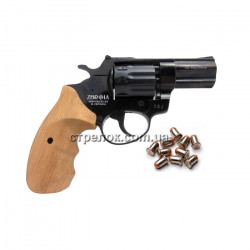 """Револьвер под патрон Флобера Profi 2.5"""" бук"""