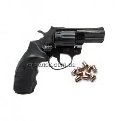 "Револьвер под патрон Флобера Profi 2.5"" пластик"