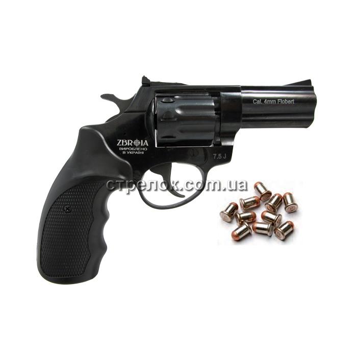 "Револьвер под патрон Флобера Profi 3"" пластик"