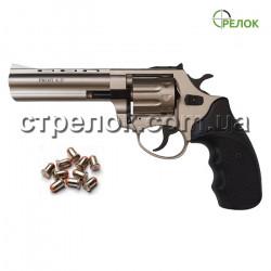 "Револьвер под патрон Флобера Profi 4.5"" сатин пластик"