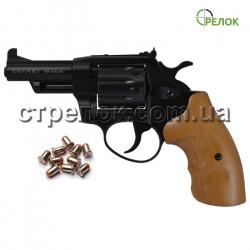Револьвер под патрон Флобера Safari PRO 431 Black, бук