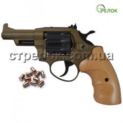 Револьвер под патрон Флобера Safari PRO 431 Bronze, бук