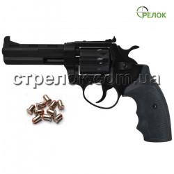 Револьвер под патрон Флобера Safari PRO 441 Black, пластик
