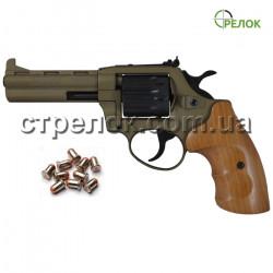 Револьвер под патрон Флобера Safari PRO 441 Bronze, бук