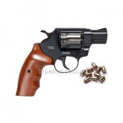 Револьвер под патрон Флобера Safari РФ 420 орех